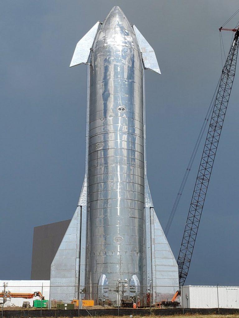 Prototyp pojazdu StarShip / Credits - SpaceX