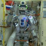 Robot Skybot F-850 na ISS / Credits - Roskosmos