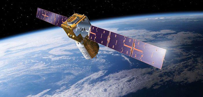 Grafika prezentująca satelitę Aeolus / Credits - ESA