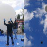 Przygotowania do startu oraz start balonu stratosferycznego / Credits - Młyn Nowoczesności
