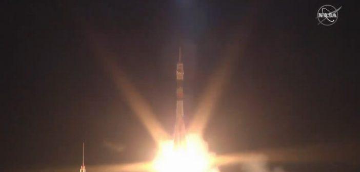 Start Sojuz MS-15 - 25.09.2019 / Credits - NASA TV