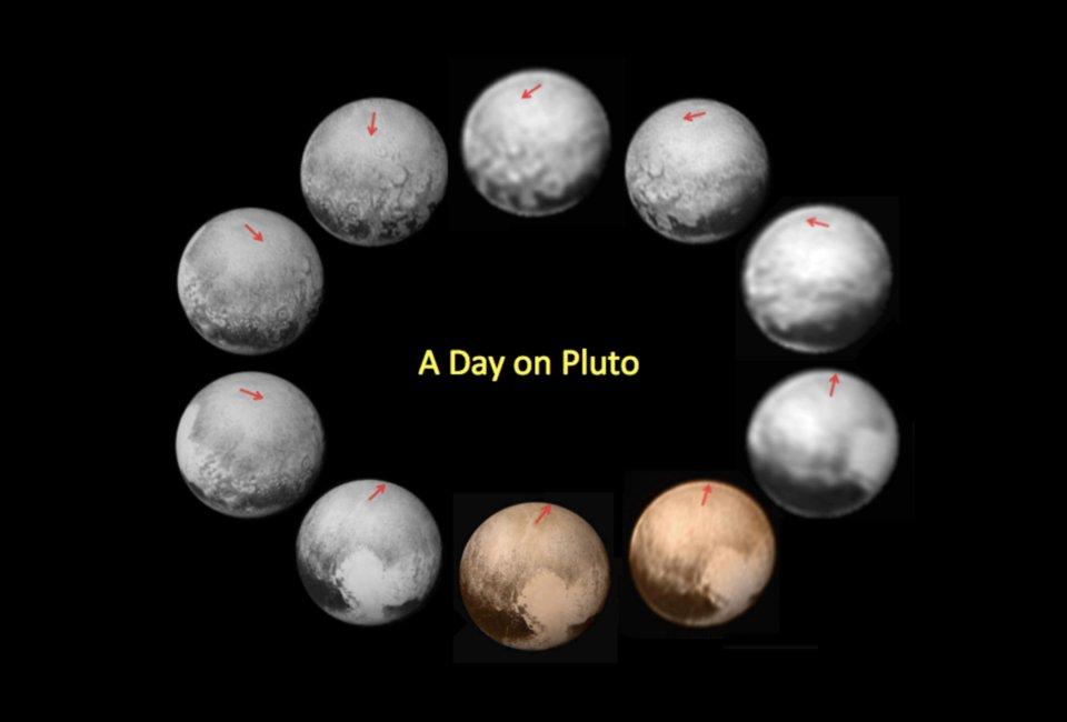 Dzień na Plutonie - najlepsze obrazy Plutona z przelotu misji New Horizons / Credits - / Credits - NASA/Johns Hopkins University Applied Physics Laboratory/Southwest Research Institute