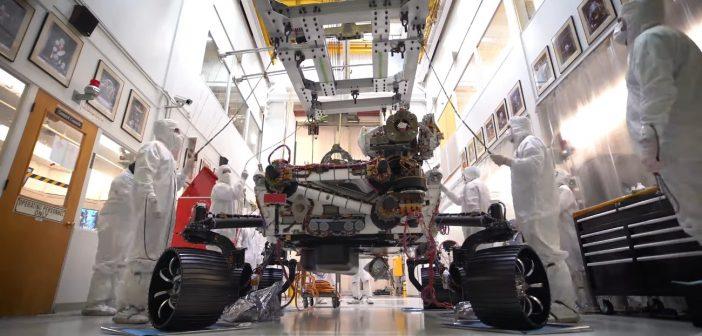 Mars 2020 po raz pierwszy na kołach / Credits - JPL, NASA