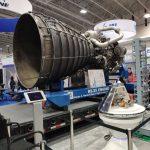 Silnik RS-25 - część stanowiska NASA na IAC 2019 / Credits - K.Kanawka, Kosmonauta.net