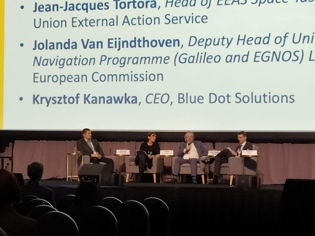 Panel na IAC 2019 z udziałem uczestnika z Polski / Credits - kosmonauta.net