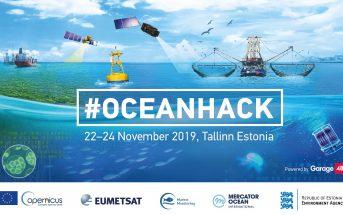 Oceanhack 2019 / Credits - Garage48