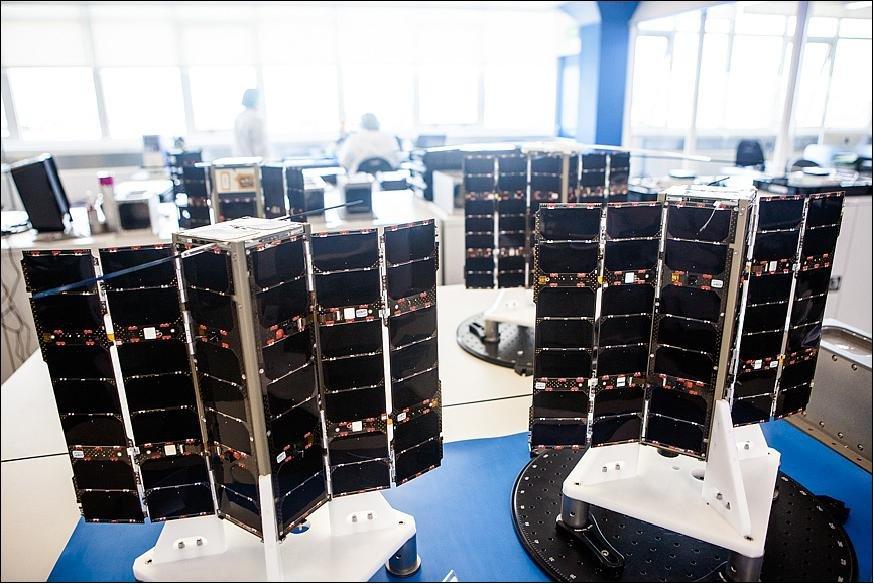Satelity Lemur, używane przez firmę Spire / Credits - Spire
