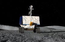 Pierwsza wizualizacja łazika VIPER / Credits - NASA