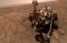 (Złożone) zdjęcie łazika MSL - 10 października 2019 / Credits - NASA/JPL-Caltech/MSSS