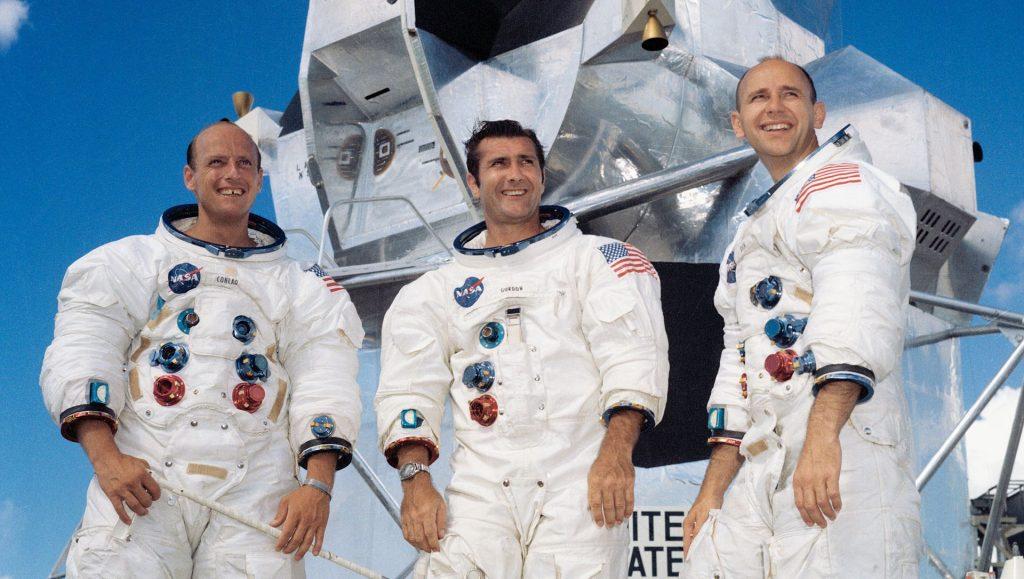 Załoga misji Apollo 12 / Credits - NASA