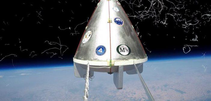 Stratosferyczne Apollo 11 / Credits - meprises-du-ciel.fr