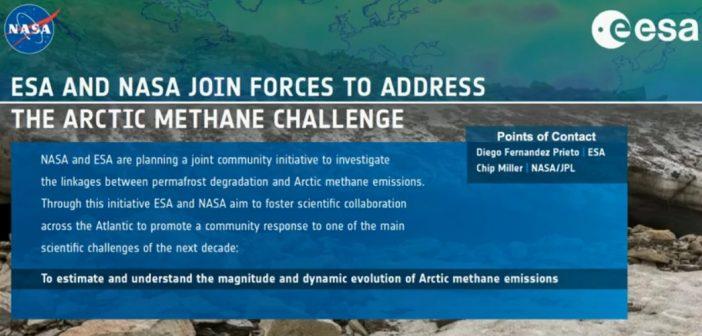 Przykład wspólnych działań NASA i ESA w tematyce EO / Credits - AGU