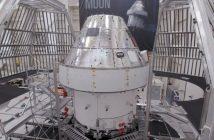 MPCV Orion przed początkiem testów termiczno - próżniowych / Credits - ESA