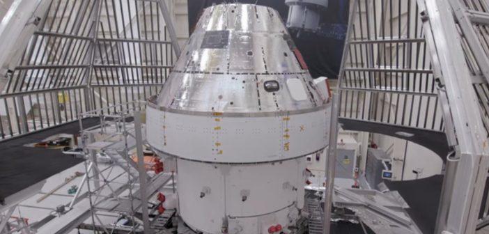 Testy termiczno-próżniowe MPCV Orion