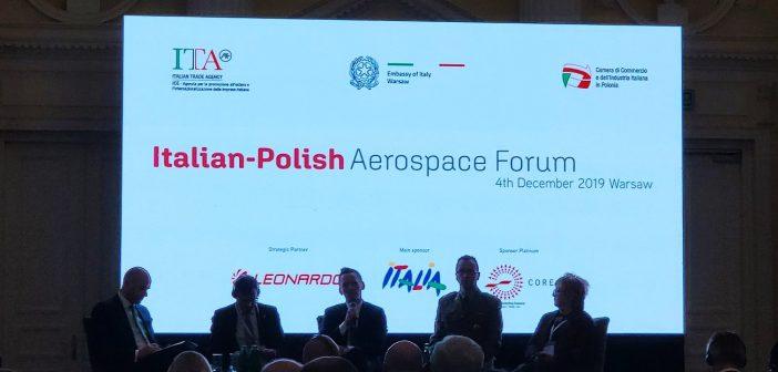 Włosko-polskie forum branży kosmicznej i lotniczej