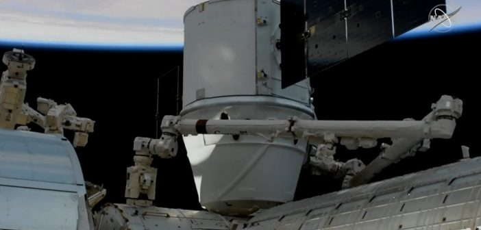 Dragon CRS-19 na ISS