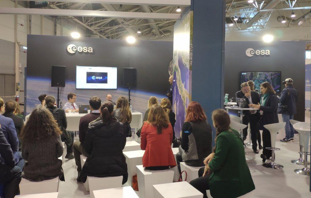 Jeden z wielu warsztatów ESA zorganizowany na New Space Economy ExpoForum / Credits - Kosmonauta.net