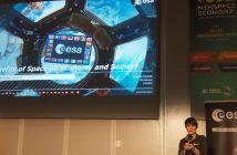 Samantha Cristoforetti na New Space Economy 2019 / Credits - Kosmonauta.net