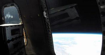 Widok na Ziemię podczas lotu New Shepard z 11 grudnia 2019 / Credits - Blue Origin