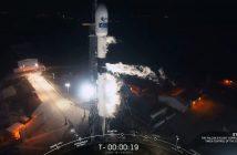 Tuż przed startem Falcona 9 - 17.12.2019 / Credits - SpaceX