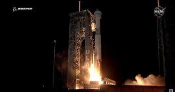 Pierwszy start CST-100 Starliner / Credits - NASA TV