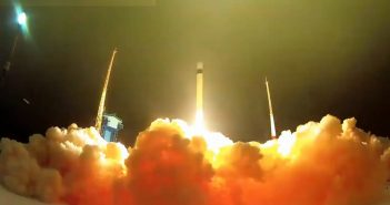 Ostatni start rakiety Rokot / Credits - Roskosmos