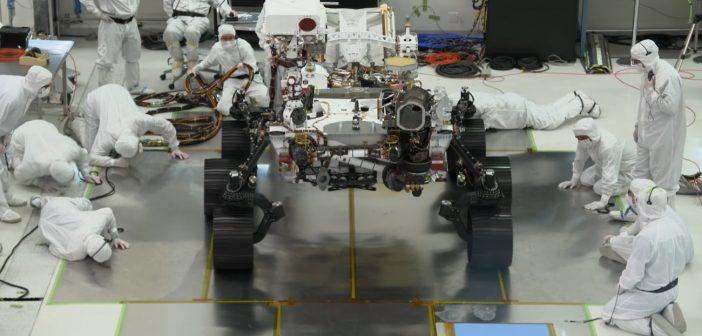 Pierwsza jazda łazika Mars 2020 / Credits - JPL, NASA