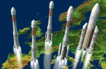 Rodzina rakiet Ariane / Credits - Arianespace