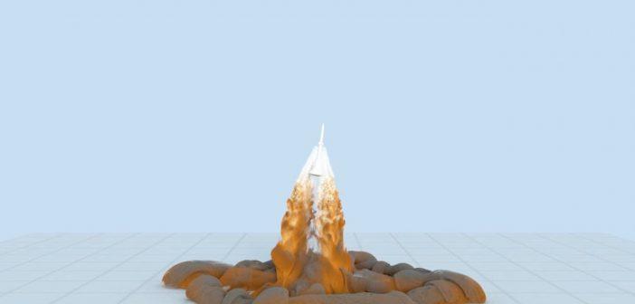 Komputerowa symulacja Pad Abort - 1 / Credits - NASA/Ames Research Center/TimothySandstrom, Cetin Kiris, Francois Cadieux, Michael Barad