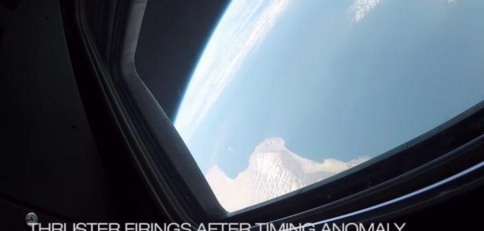 Ujęcie z pokładu CST-100 Starliner w trakcie pierwszej misji orbitalnej / Credits - Boeing