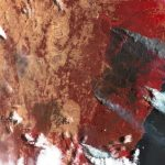Pożary w regionie położonym ok 100 km na południe od Sydney - 31.12.2019 (sztuczne kolory) - satelita Sentinel-2 / Credits - Komisja Europejska, Copernicus, Sentinel Hub