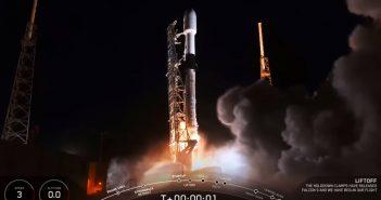 Pierwszy start w 2020 roku / Credits - SpaceX