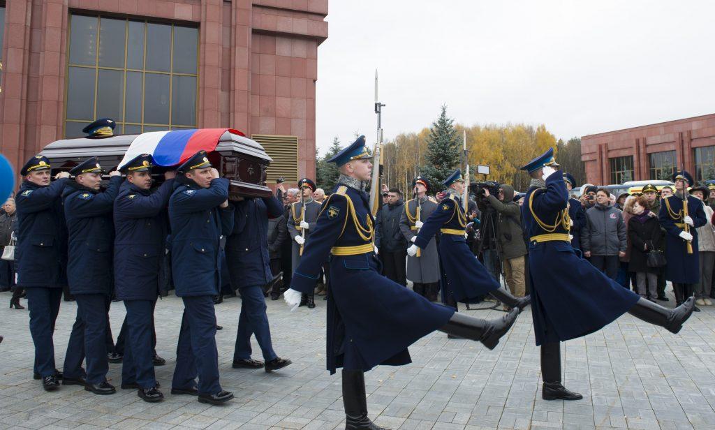 Uroczystości pogrzebowe Aleksieja Leonowa. Credits CPK
