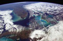 Floryda i Kuba z perspektywy ISS - zdjęcie Chrisa Hadfielda / Credits - CSA, NASA