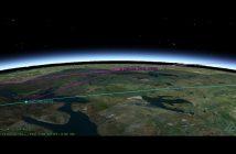 Pozycja satelitów Kosmos 2542 i NROL-61 w dniu 30 stycznia 2020 tuż przed godziną 21:00 CET / Credits - AGI, Michael Thompson