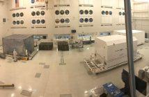 Łazik Mars 2020 opuszcza High Bay 1 / Credits - NASA, JPL