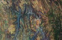 Boliwijskie serce / credits: ESA