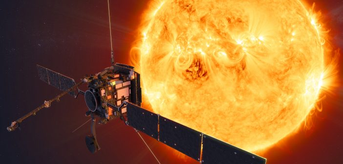 Sonda Solar Orbiter. Rys. ESA