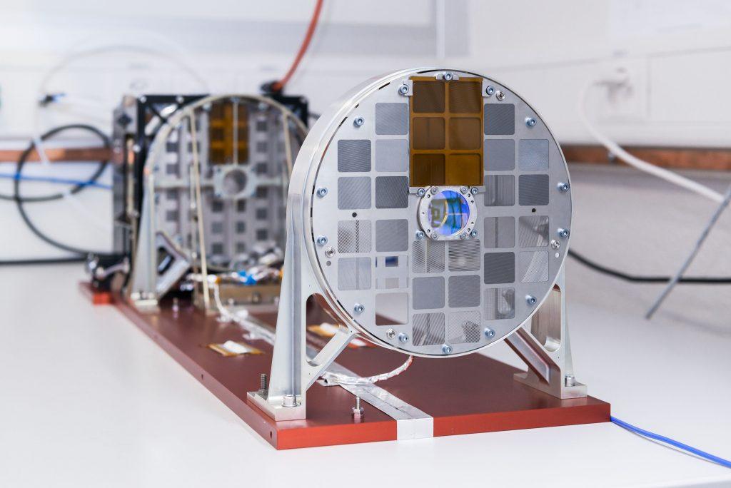 Instrument STIX (Spectrometer/ Telescope for Imaging X-rays) opracowany z udziałem Polaków z Centrum Badań Kosmicznych PAN. Fot. Jan Hellmann.