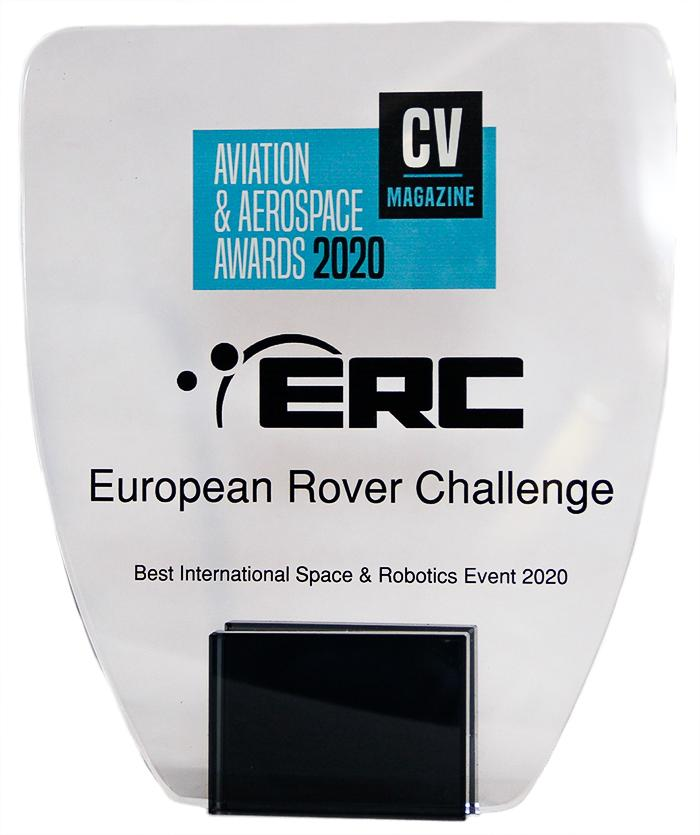 Nagroda dla konkursu ERC / Credits - Corporate Vision