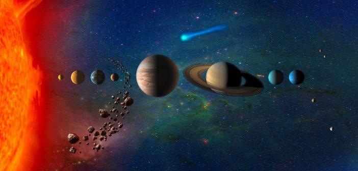 Cele do eksploracji w Układzie Słonecznym / Credits - NASA