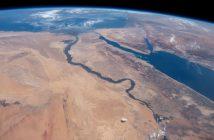 Egipt z pokładu ISS (zdjęcie z 2019 roku) / Credits - NASA