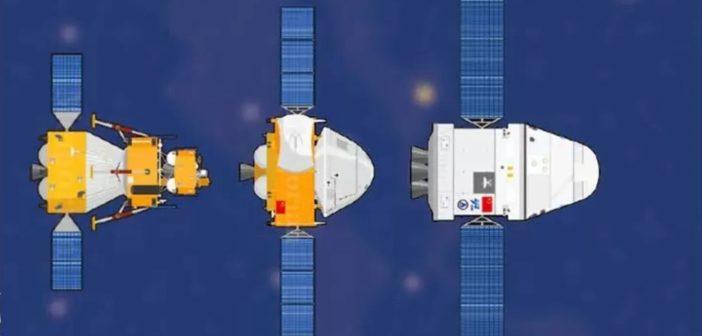 Trzy chińskie misje planowane na 2020 rok / Credits - Our Space/CLEP