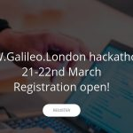 Hackaton RAW.Galileo.London - 21/22 marca 2020 / Credits - UoN