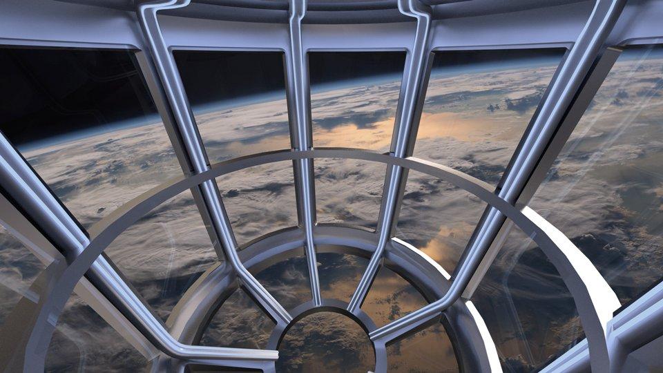 Wnętrze kapsuły przeznaczonej do obserwacji Ziemi (źródło: https://www.axiomspace.com/)