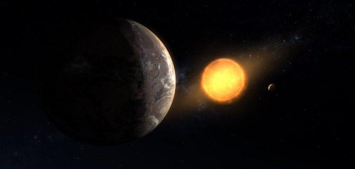 Wizja artystyczna Kepler-1649c / Credits - NASA/Ames Research Center/Daniel Rutter