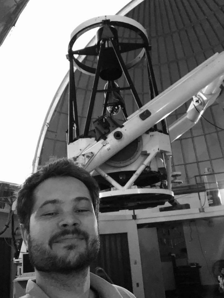 Kacper Wierzchoś - odkrywca komety C/2020 H3 (Wierzchoś)