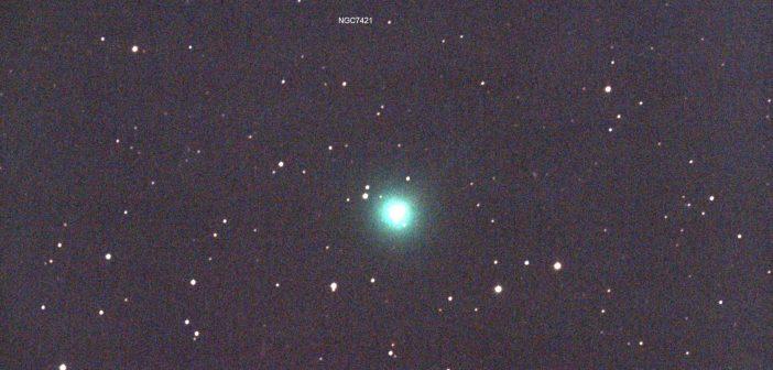Kometa C/2020 F8 (SWAN) w dniu 11 kwietnia 2020 / Credits - M. Mattiazzo