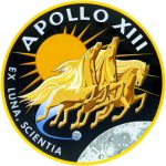 Logo misji Apollo 13 / Credits - NASA