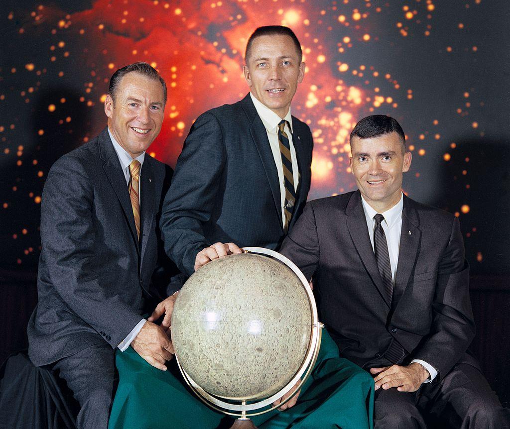 Załoga misji Apollo 13 / Credits - NASA